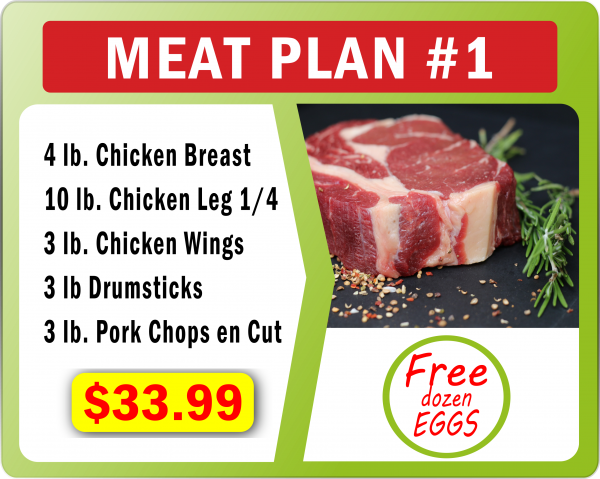 Meat Plan number 1
