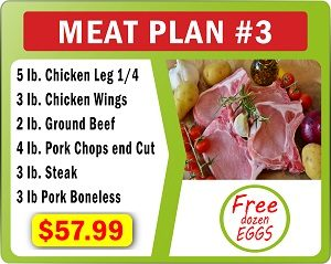 Meat Plan number 3